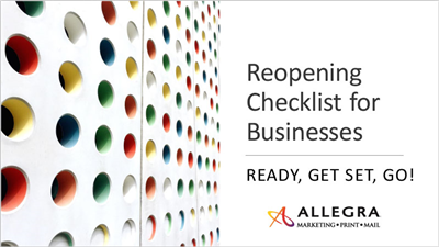 Repening Checklist for Businesses